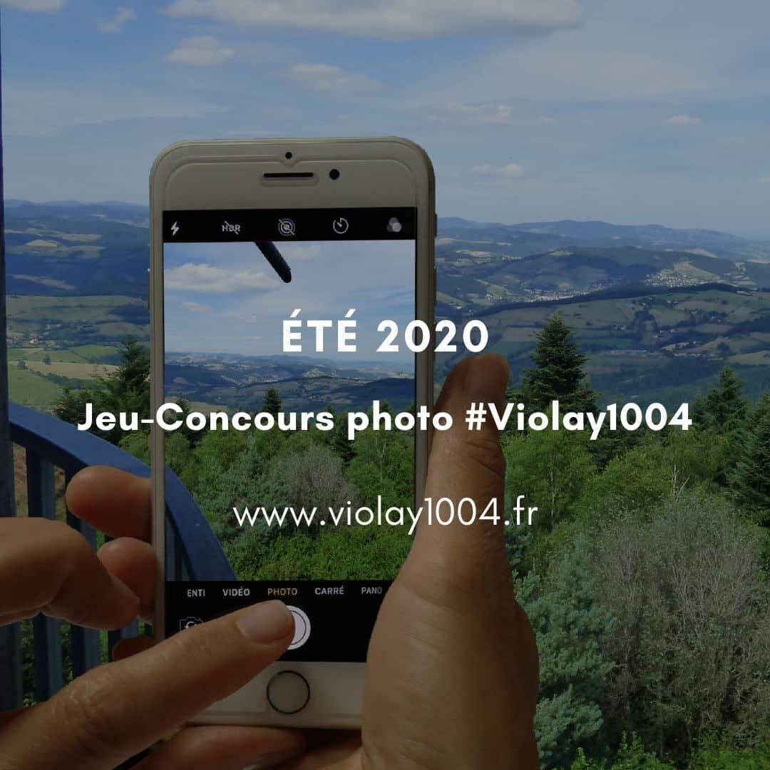 Jeu-concours photo Violay été 2020
