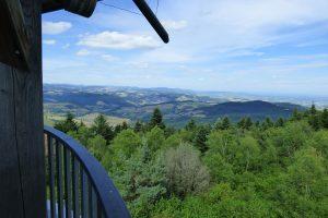 Tour Matagrin - Vue panoramique -Violay-Région-roannaise